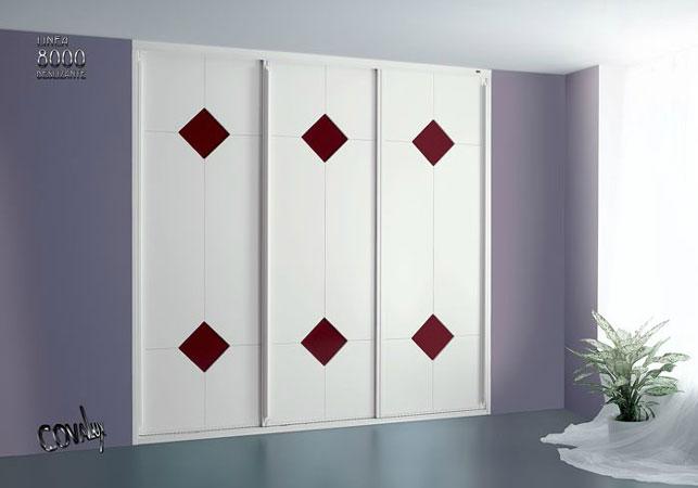 frentes de armario barnizados lacados