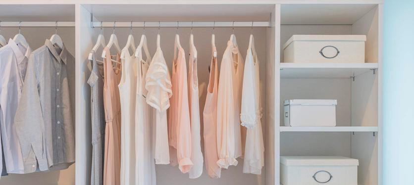 Sabías que hay perchas para todos los tipos de prenda de vestir
